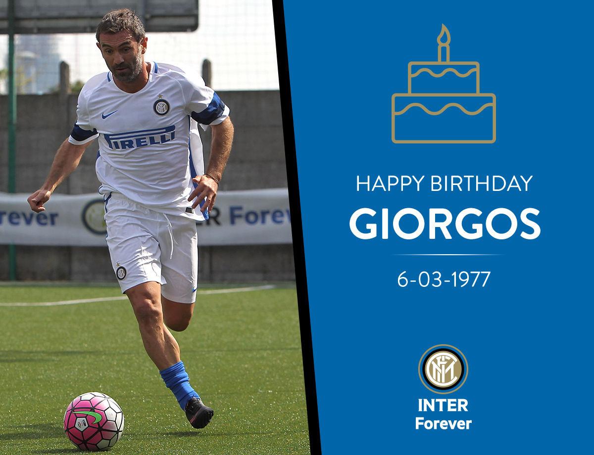 ¡Feliz cumpleaños Giorgos!