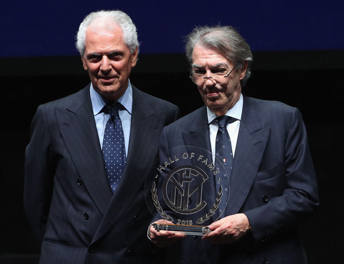 Hall of Fame: The Moratti family receive special prize