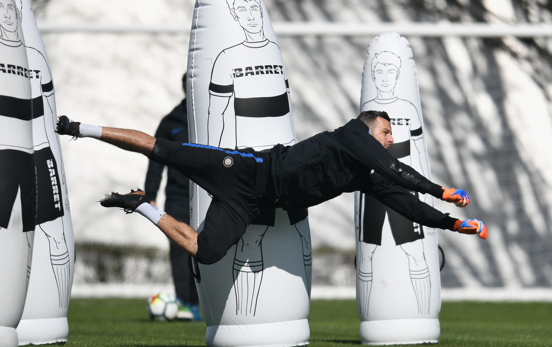 2日後のサンプドリア対インテル戦へ向けネラッズーリがトレーニング
