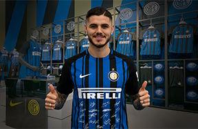 Mauro Icardi ti aspetta all'Inter Store