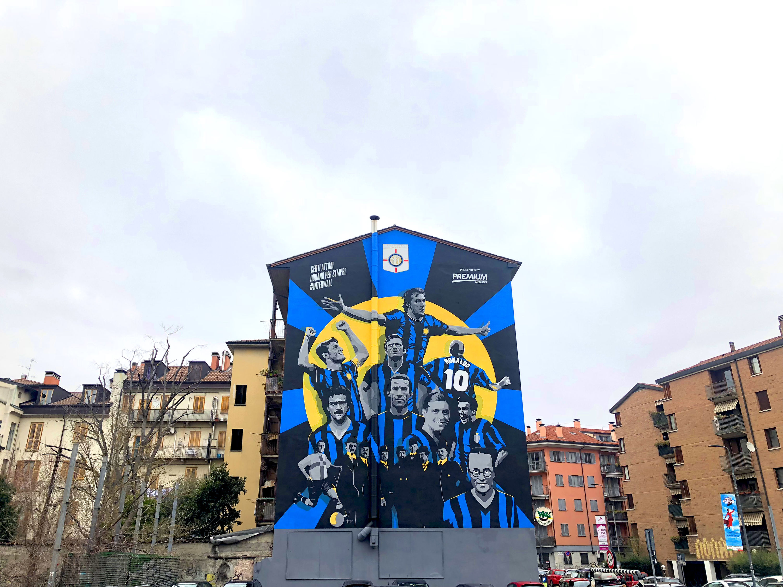 FC Internazionale Milano e Mediaset Premium presentano #InterWall