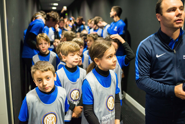 Javier Zanetti attends inauguration of Inter Academy Szent Pál Hungary