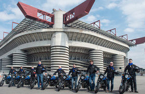 SWM Motorcycle celebra #Inter110