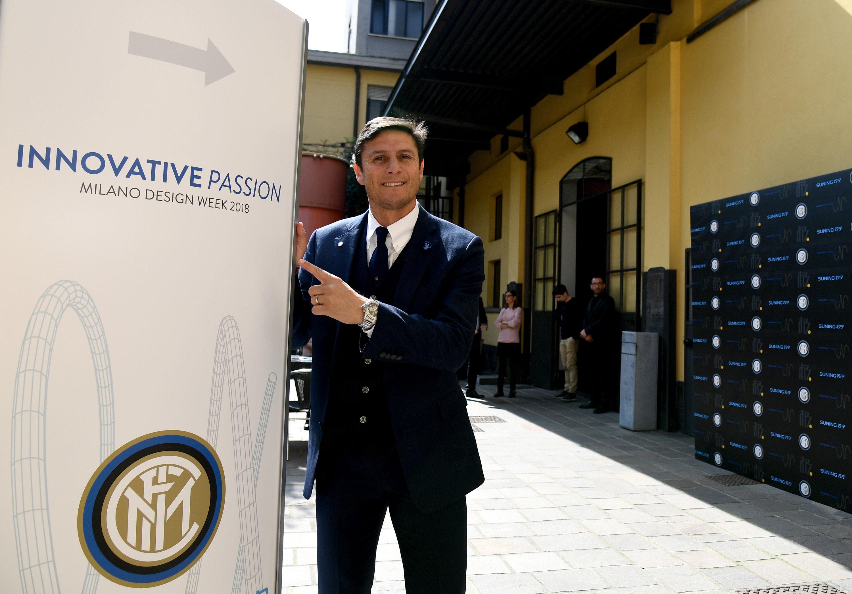 """""""Innovative Passion"""", anche Javier Zanetti al Fuorisalone di Milano"""