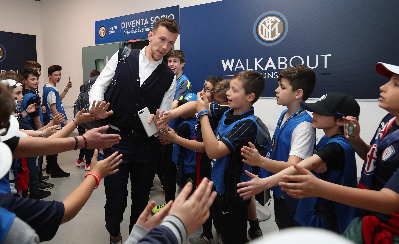 Inter-Cagliari, i soci junior Inter Club protagonisti