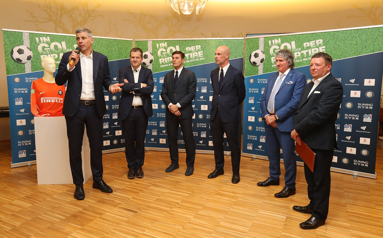"""""""Un Gol per Ripartire"""", Inter Forever a Tolentino"""