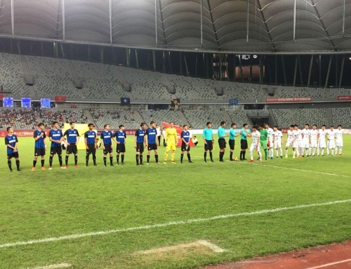 恒大U17冠军杯赛:鹿岛鹿角 5-4 国际米兰
