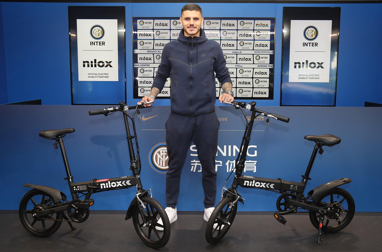 Nilox Lleva La E BikeX2 A Los Nerazzurri News