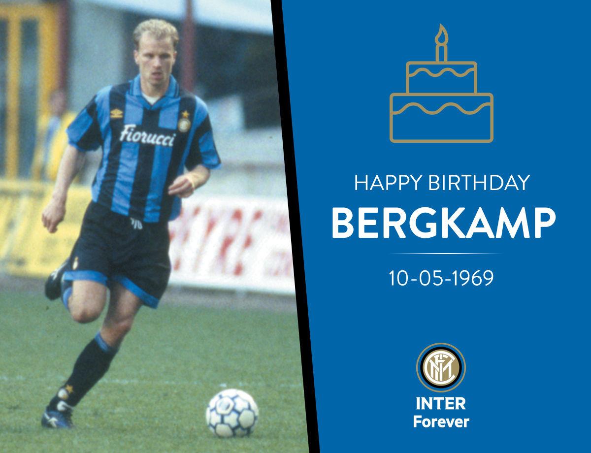 Happy Birthday Dennis Bergkamp!