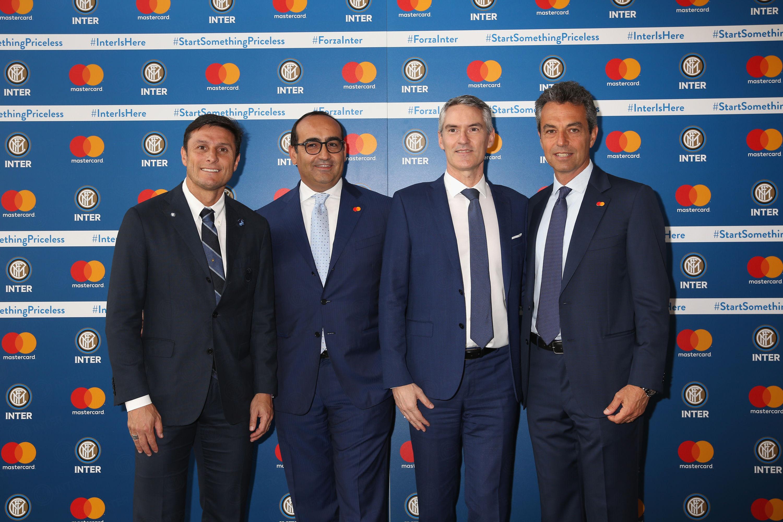 FC Internazionale Milano dan Mastercard bermitra untuk memulai petualangan unik