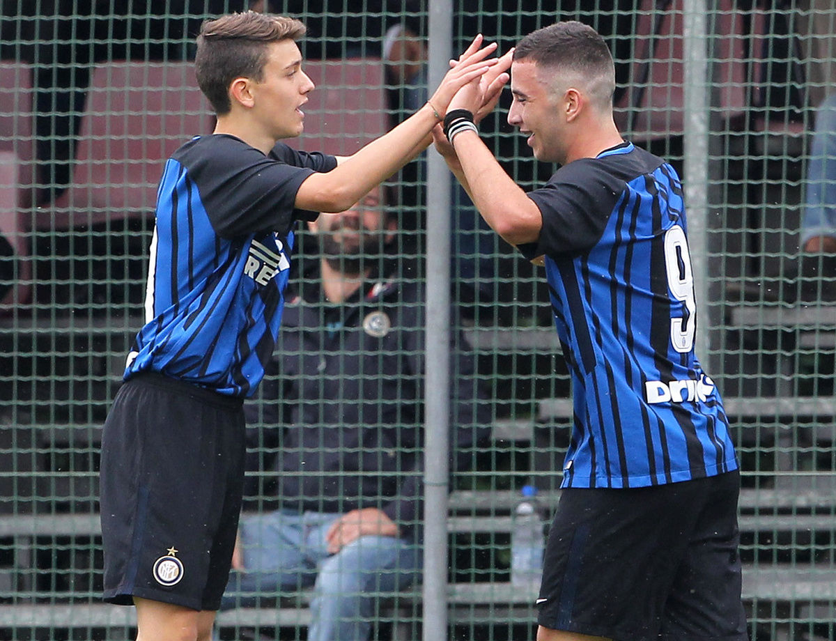 Under 15, la sfida Scudetto Inter-Juventus live su Facebook e Inter TV