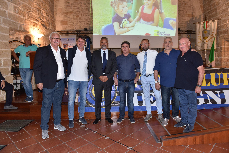 """""""Spillo"""" Altobelli insieme all'Inter Club Mesagne"""
