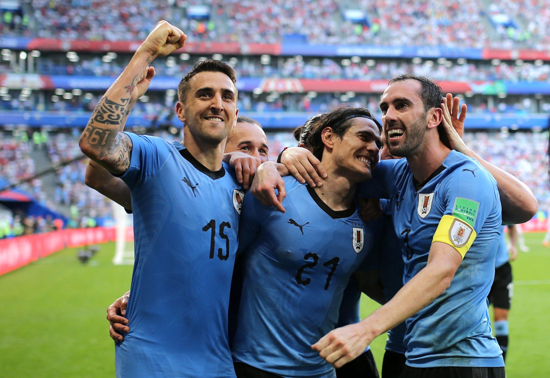 Rusia 2018: Vecino y Uruguay suman su tercera victoria en el grupo A