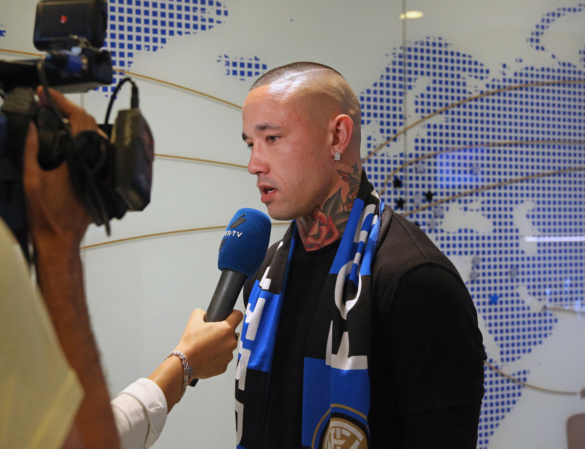 "Nainggolan: ""What a warm welcome! I am ready for this new adventure"""