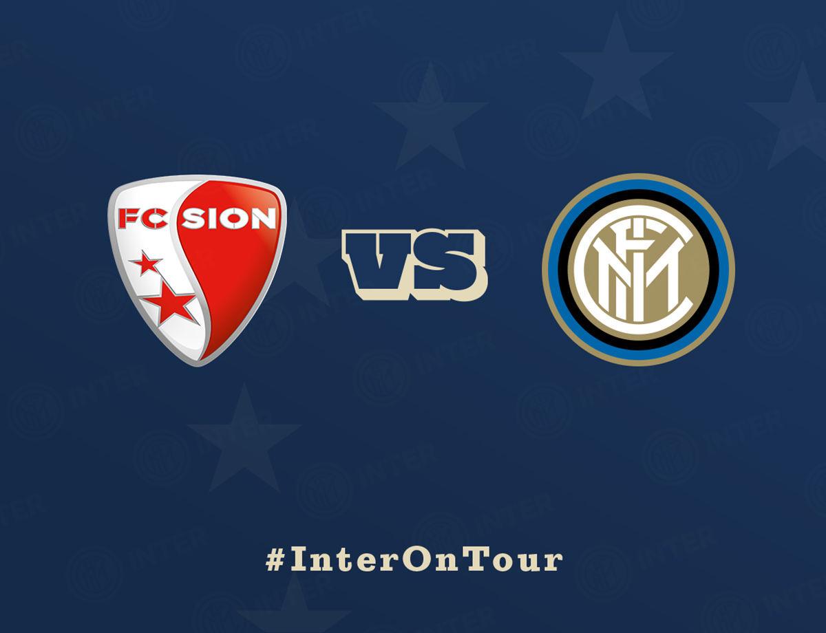 Inter ospite del Sion per il Trophée de Tourbillon