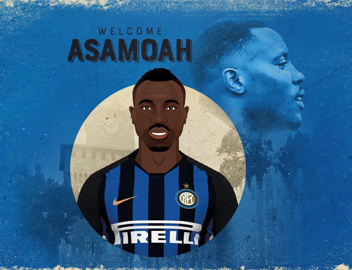 Kwadwo Asamoah signs for the Nerazzurri!