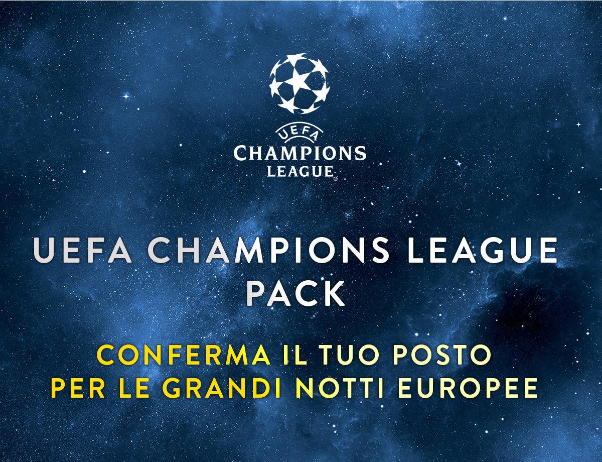 Partite Champions Calendario.Uefa Champions League Pack News