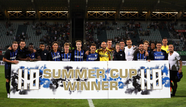 Buona la prima per l'Inter 2018/19: il fotoracconto della 110 Summer Cup!