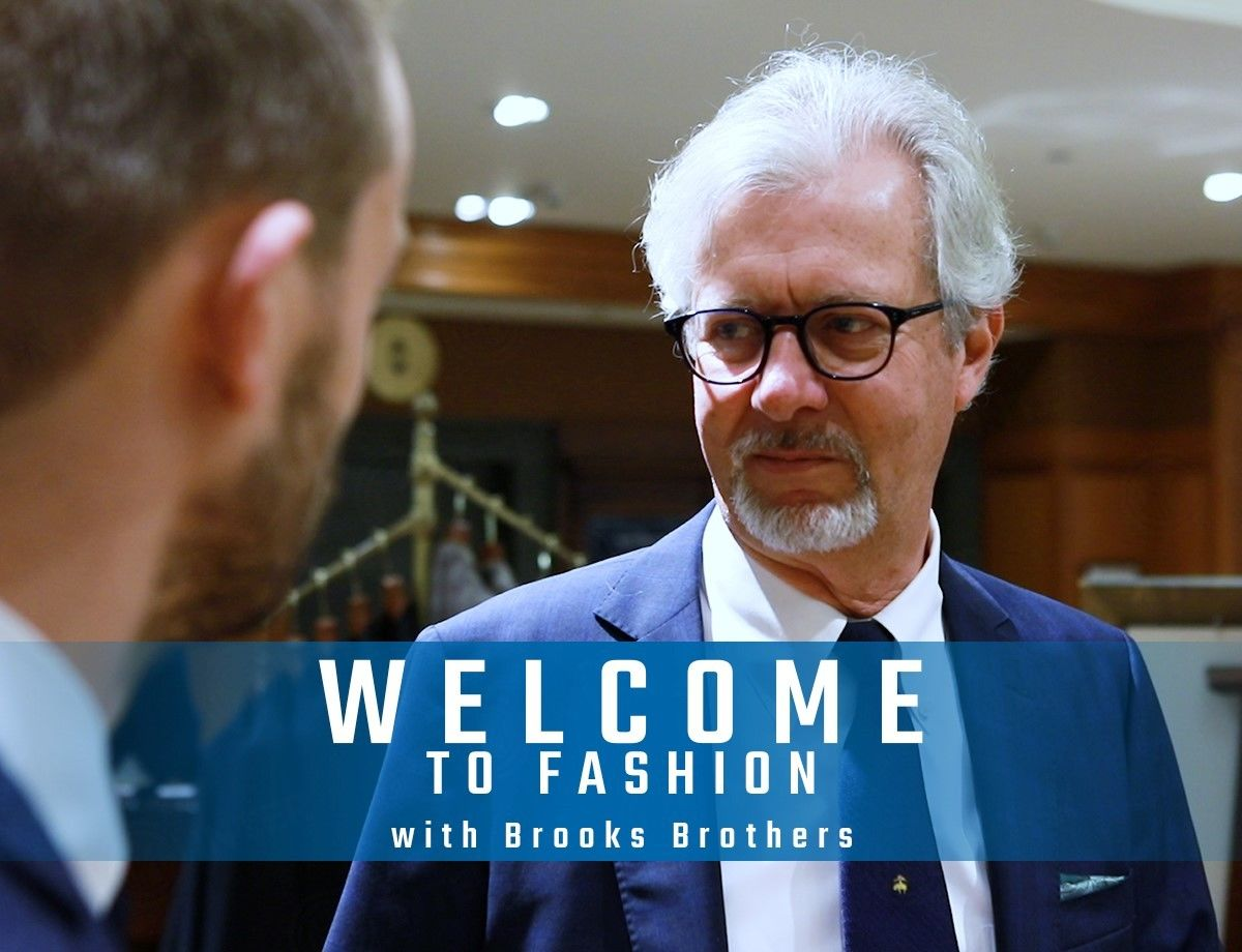 Welcome to... fashion: between Milan and New York with Brooks Brothers