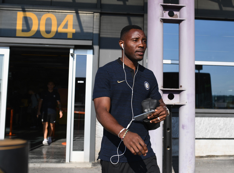 L'Inter è arrivata a Sion