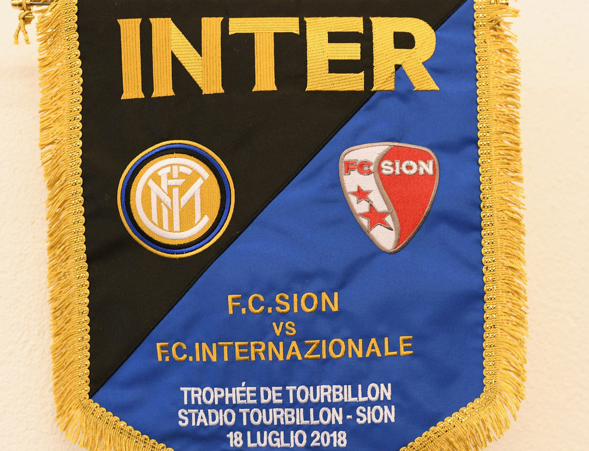 Sion vs. Inter: The official line-ups