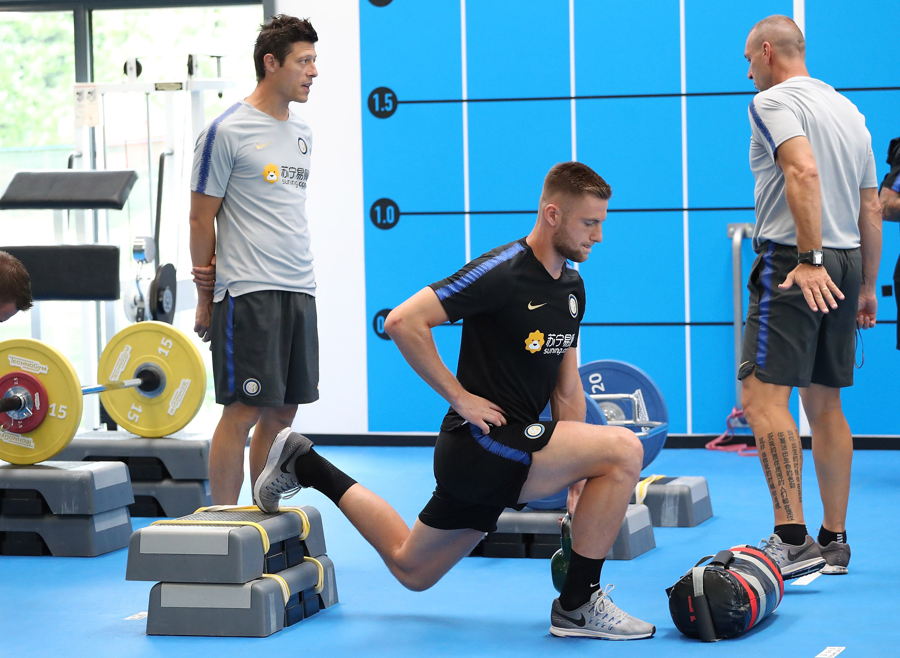 Team resume pre-season preparations at the Suning Training Centre