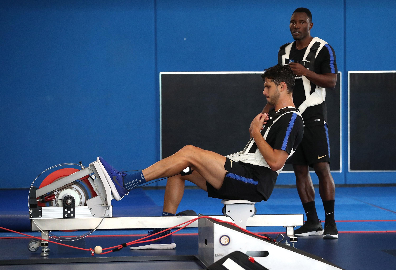 Ripresa degli allenamenti al Centro Sportivo Suning