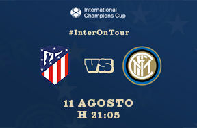 ICC 2018, a Madrid si gioca Atletico-Inter