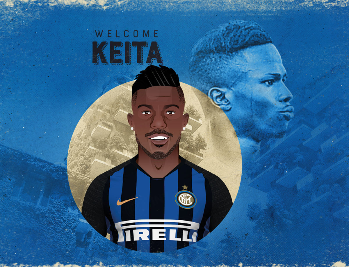Keita Balde is an Inter player!