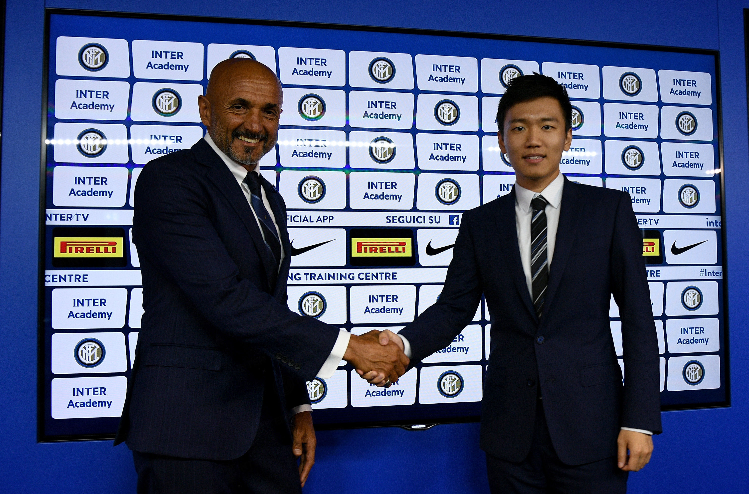Luciano Spalletti extends Inter contract to 2021!