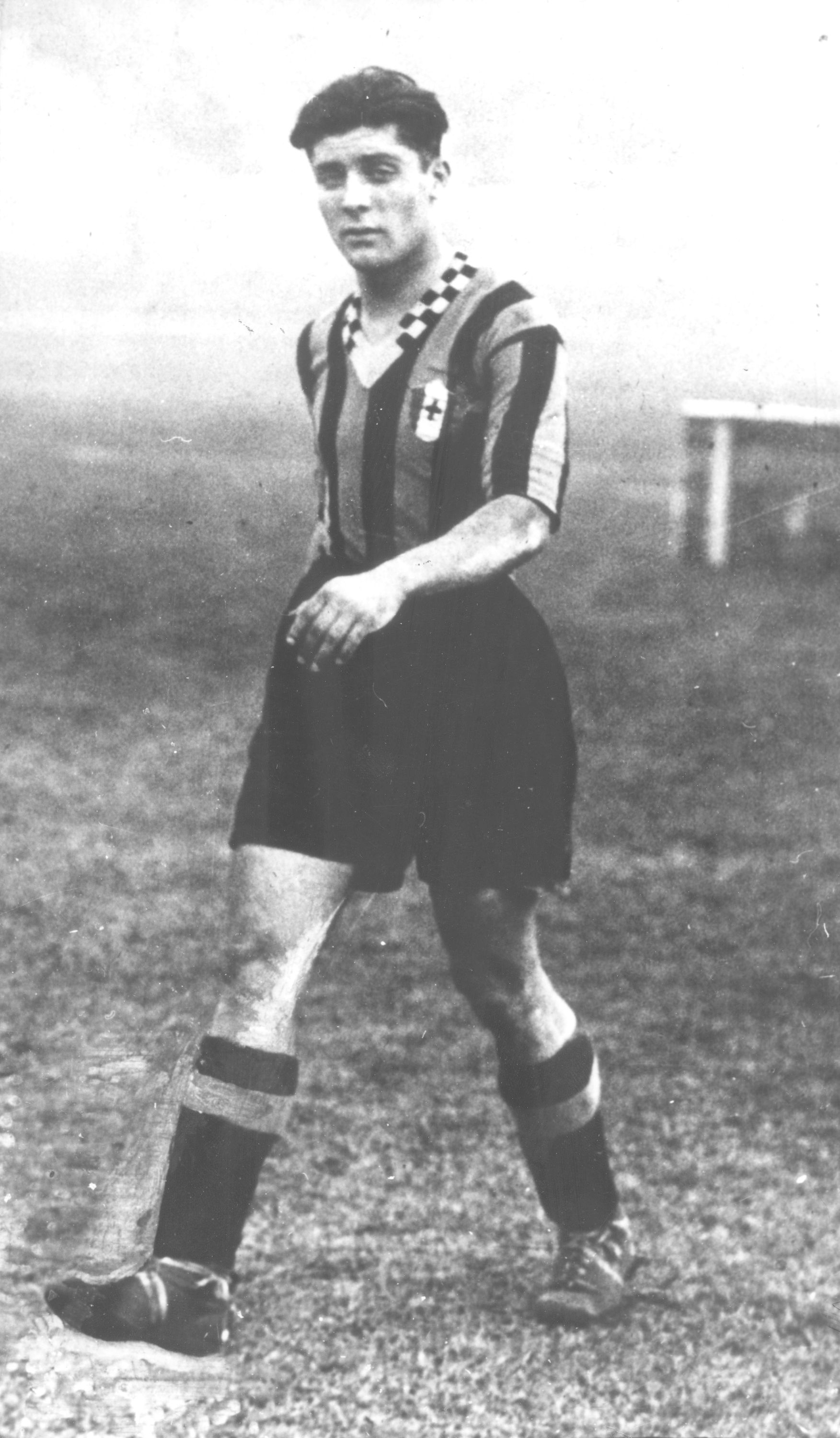 Giuseppe Meazza was born 108 years ago today