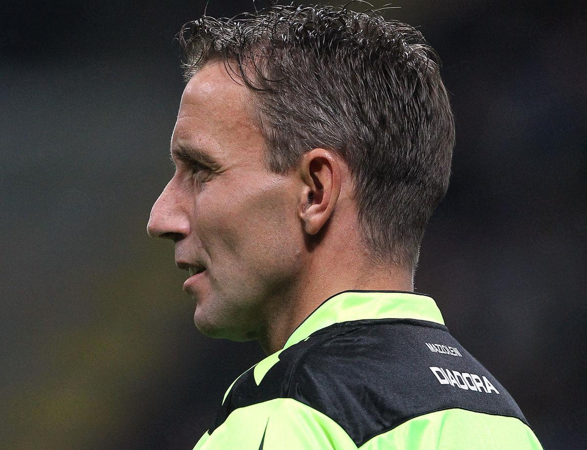马佐莱尼将担任国际米兰vs都灵比赛主裁判