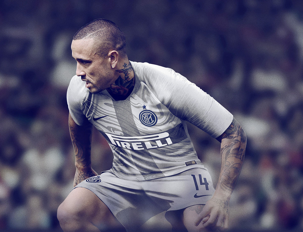 FC Internazionale Milano's 2018-19 Third Kit is a Stone-Cold Classic