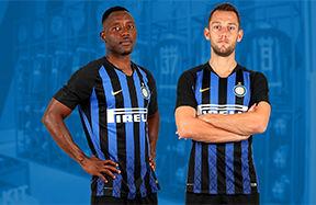 Asamoah e De Vrij ti aspettano all'Inter Store