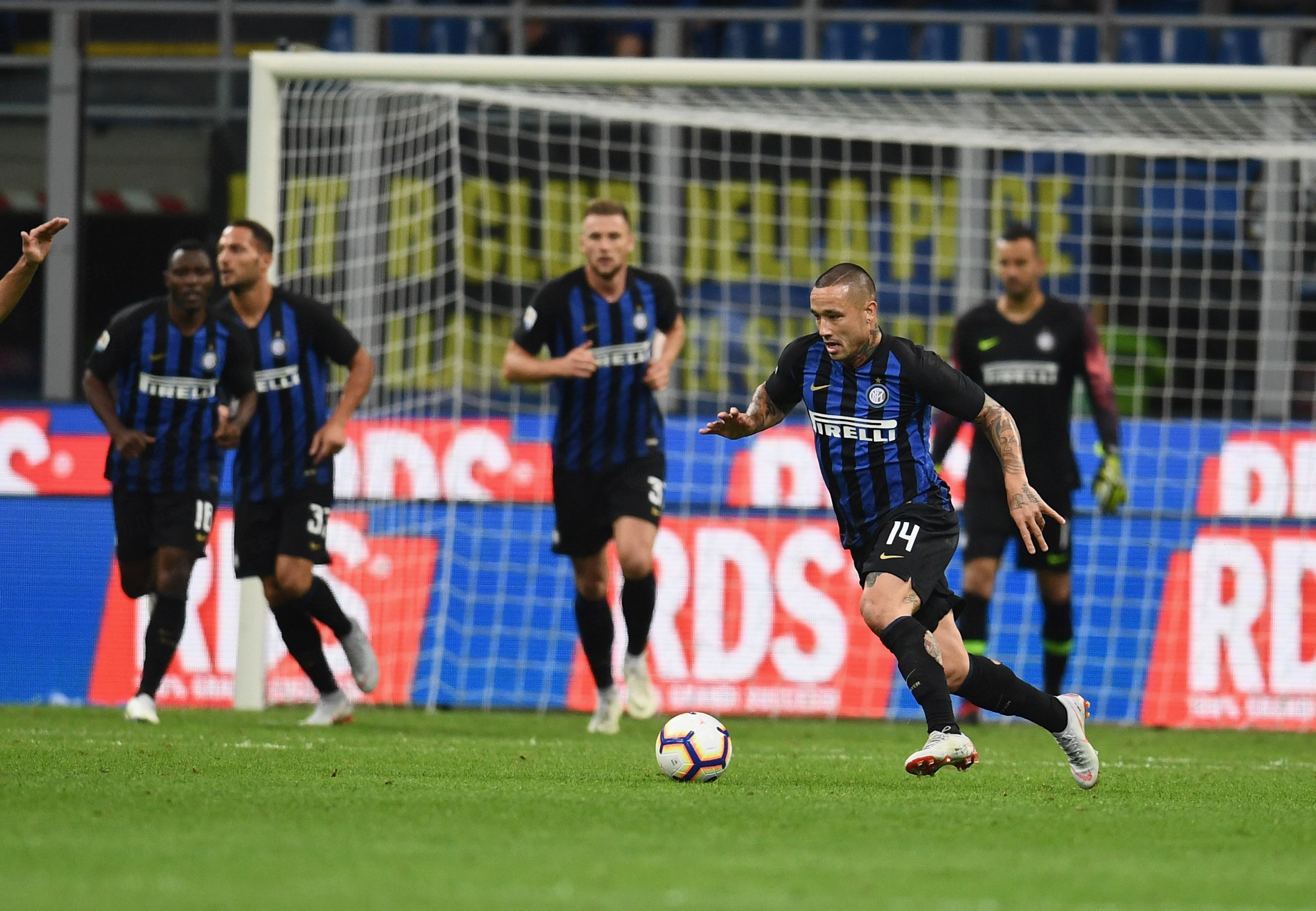All the photos from the win at the Meazza