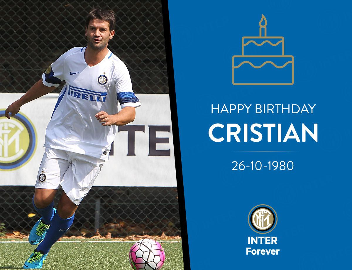 Happy Birthday, Cristian!