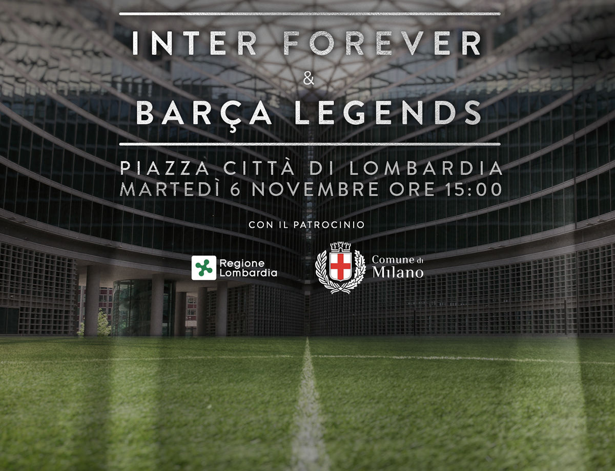 Inter Forever - Barca Legends: spettacolo a Milano