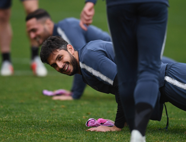 -1 para el #InterBarcelona: los nerazzurri se entrenaron por última vez