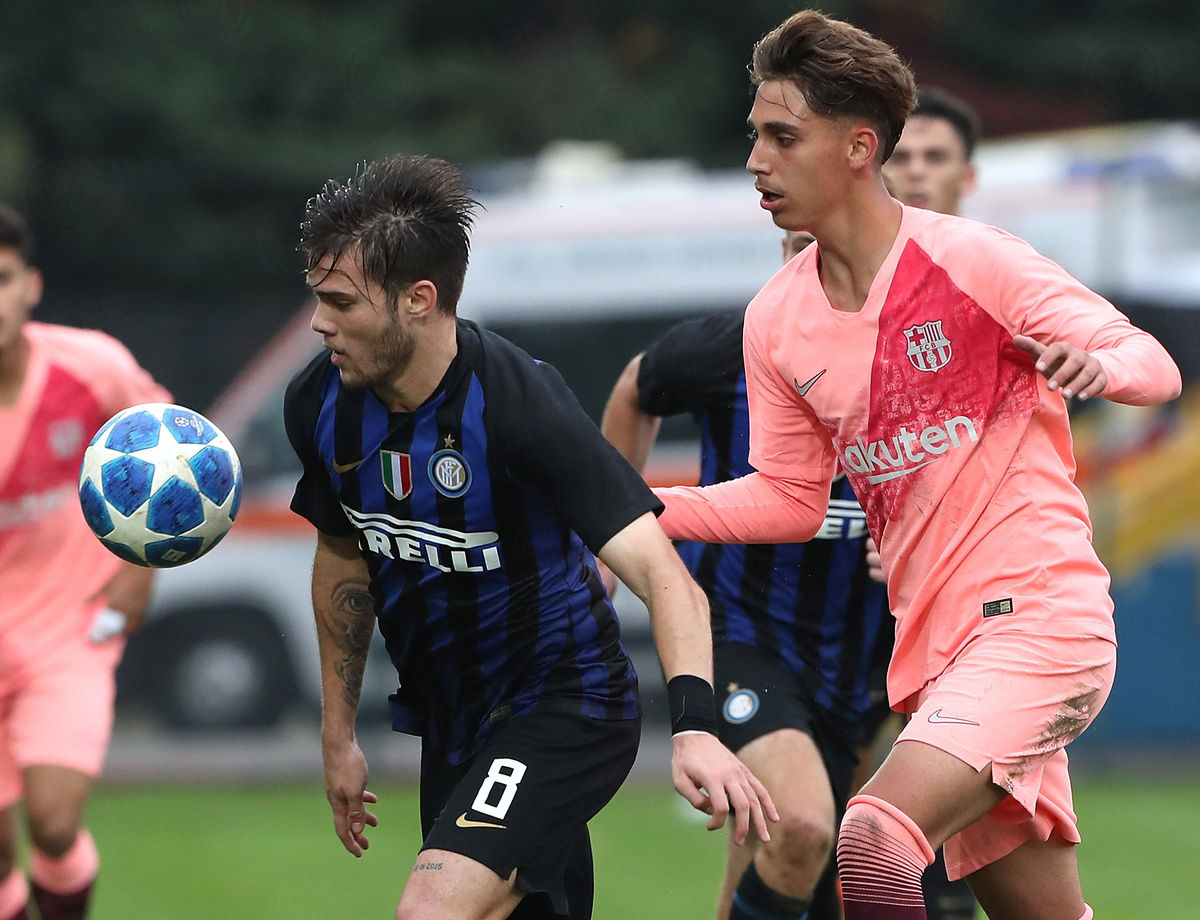UEFA Youth League, Inter-Barcellona 0-2