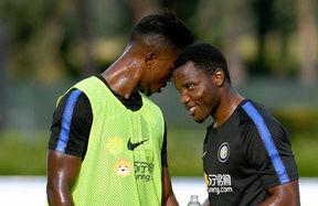 """Asamoah and Keita: """"Big games are coming up"""""""