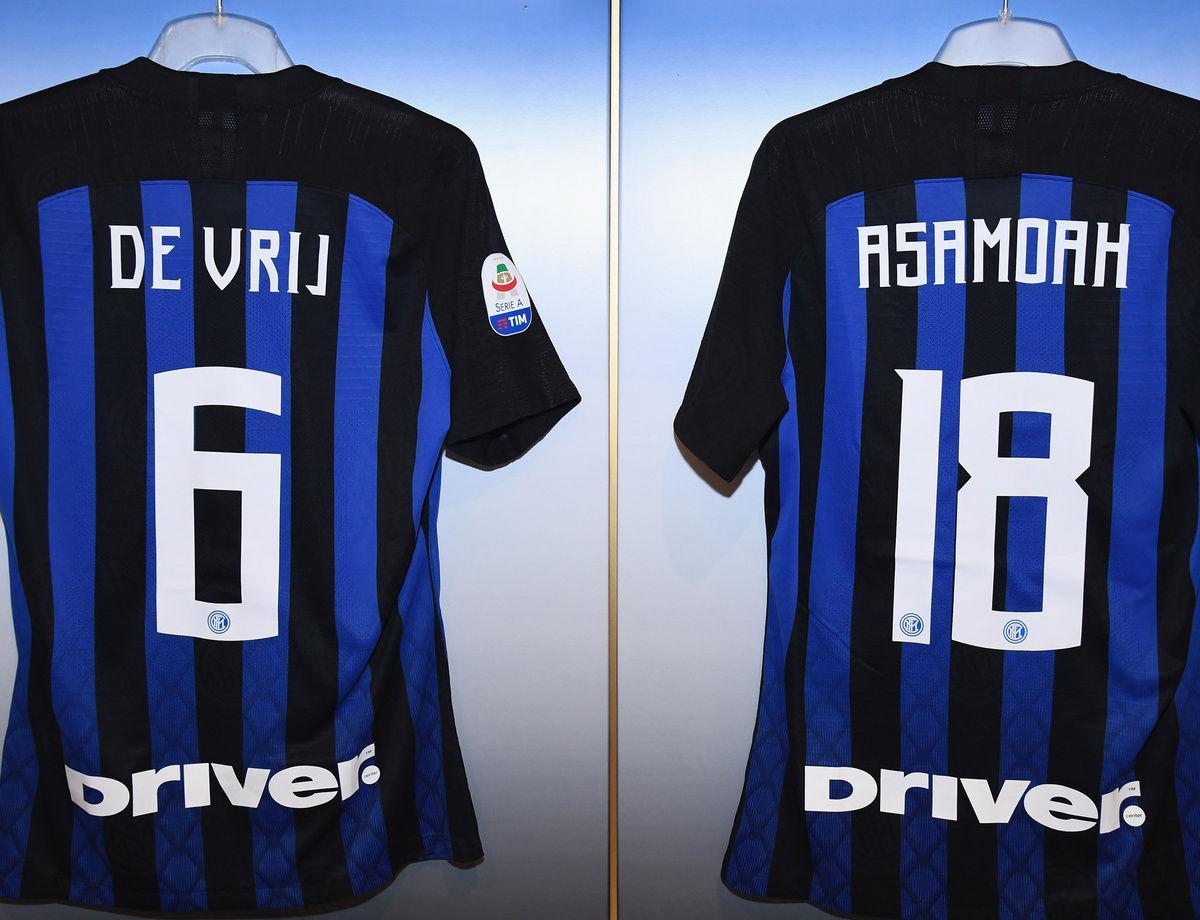 Alineaciones para el Inter - Frosinone