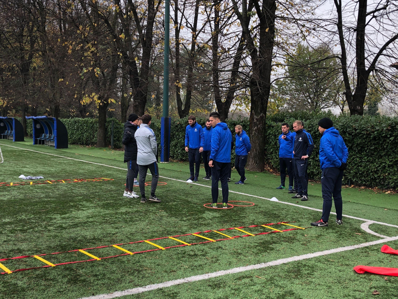 Coaching Internship in Milan for Inter Academy FSM Minsk