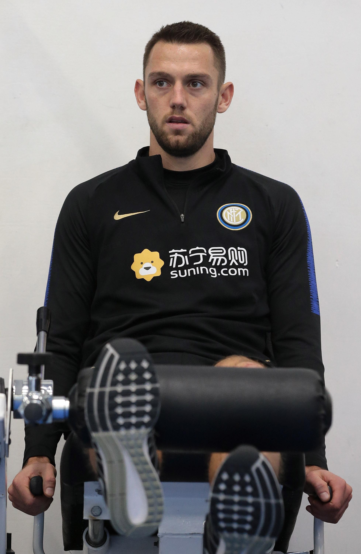Allenamento per i nerazzurri in vista di Roma-Inter