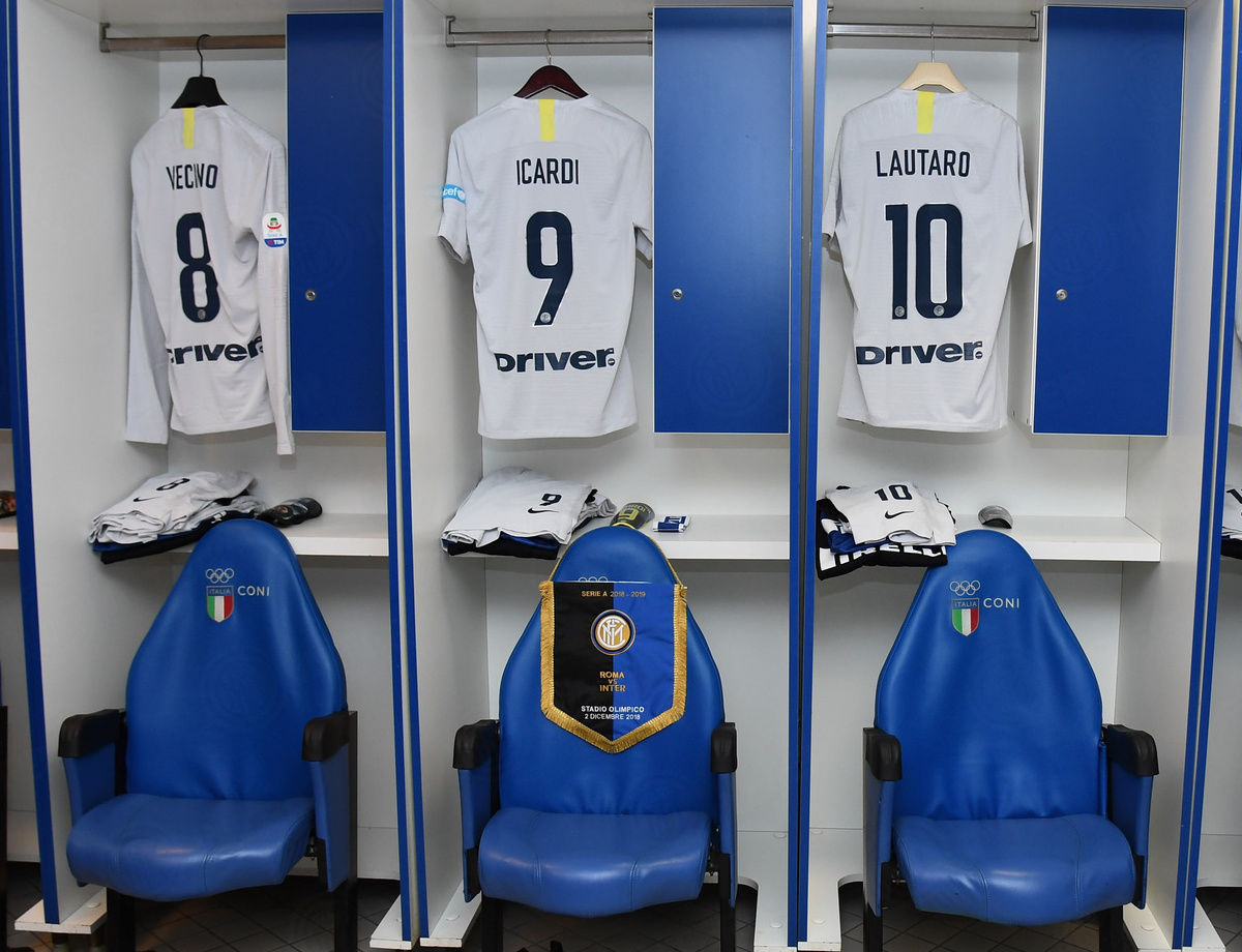 Susunan pemain laga Roma vs. Inter