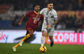 Roma 2-2 Inter: All square at the Olimpico