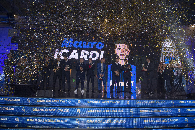 Icardi meraih dua penghargaan pada AIC Gran Galà del Calcio