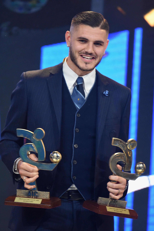 Icardi se lleva dos premios de la Gran Galà del Calcio AIC