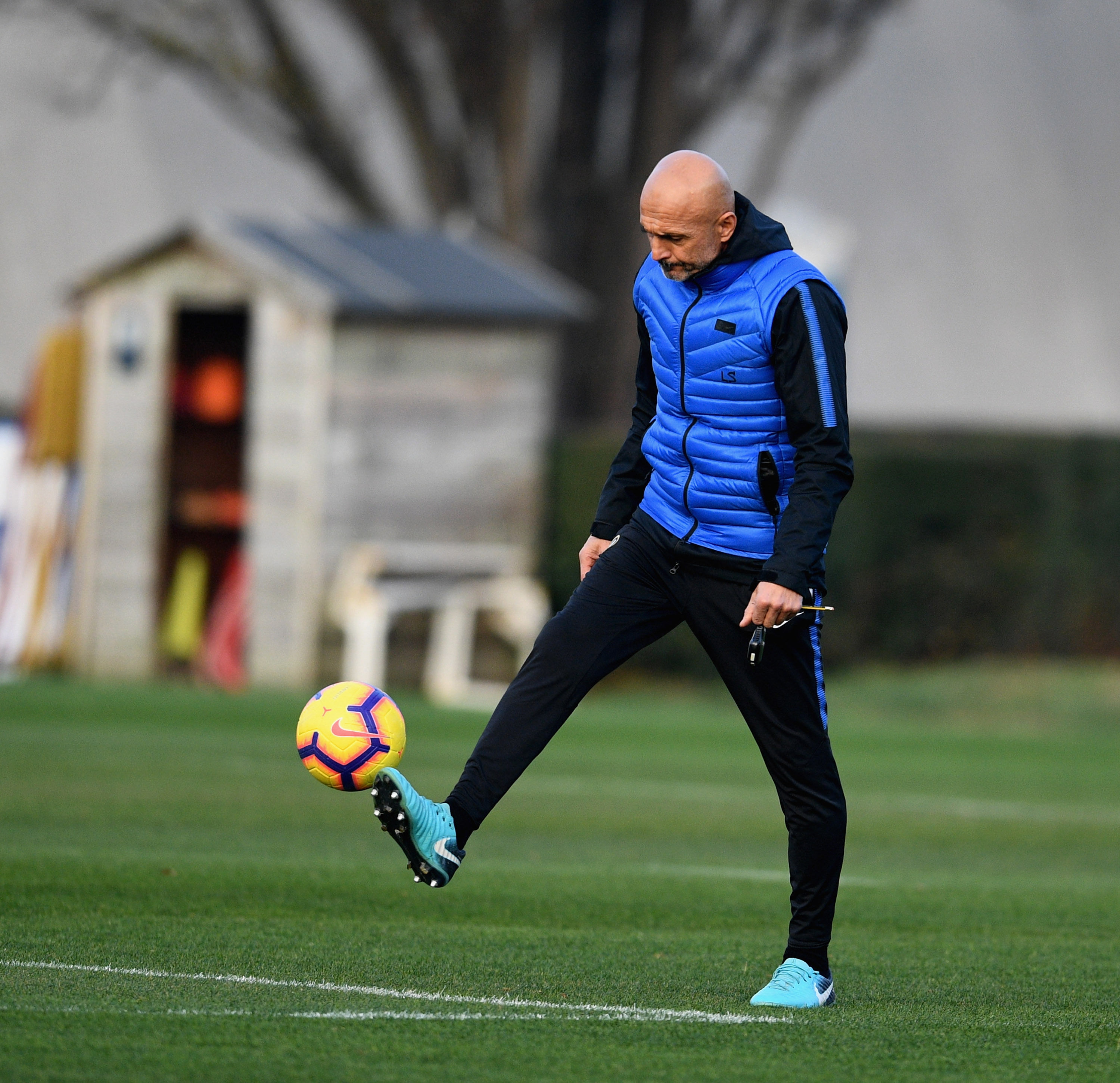 Photos from the session a day ahead of Juventus vs. Inter