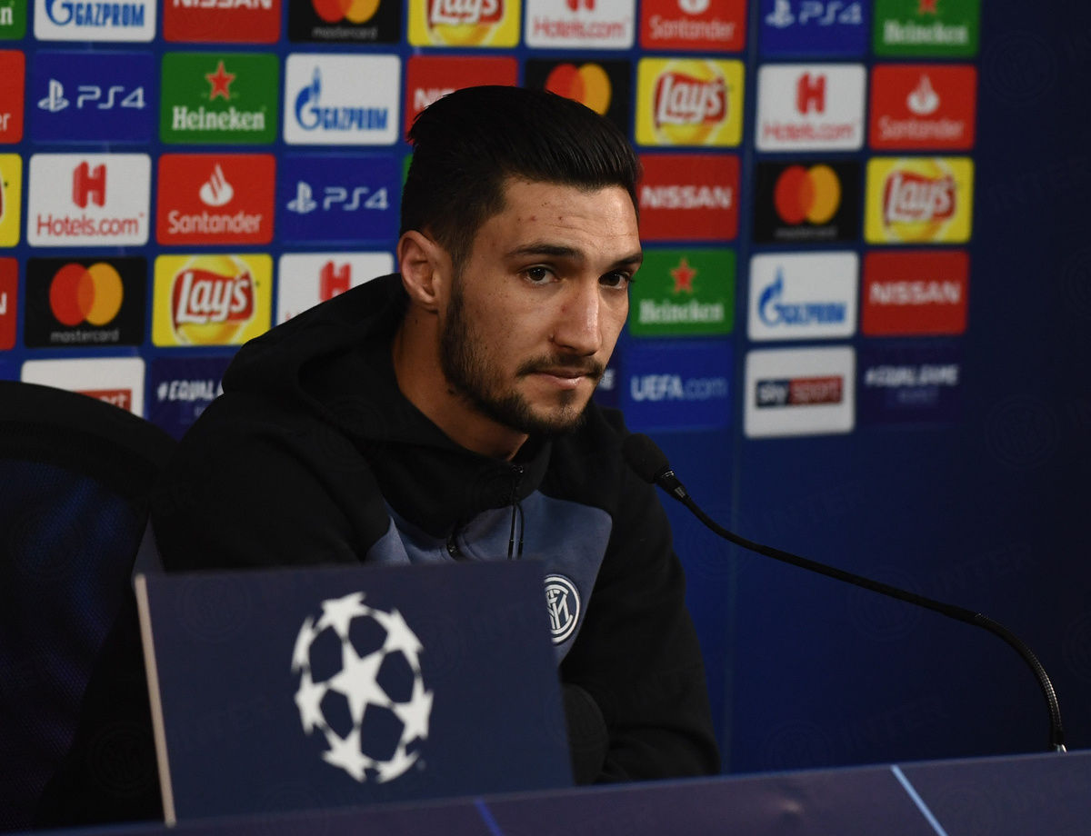 """UCL, Politano: """"We are Inter and we'll give our best tomorrow"""""""