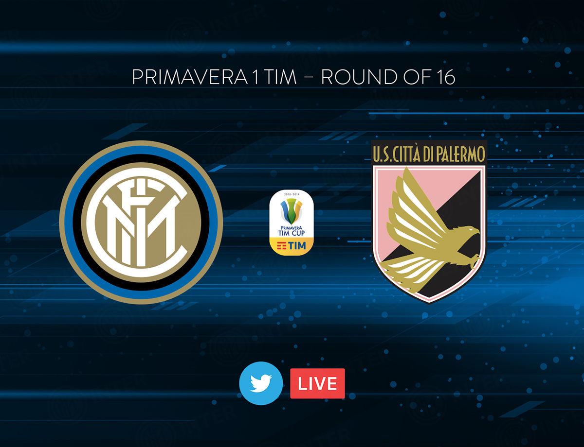 Primavera TIM Cup, Inter-Palermo in diretta su Twitter e Inter TV